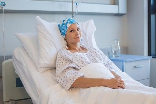 Paciente no hospital