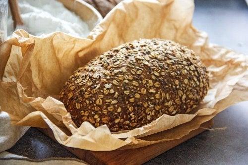 substitua o pão branco com outro tipo de pão