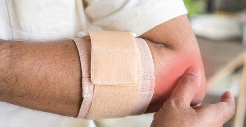 Produtos ortopédicos para pacientes com bursite