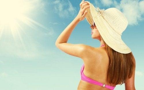 Proteger a pele dos raios nocivos do sol