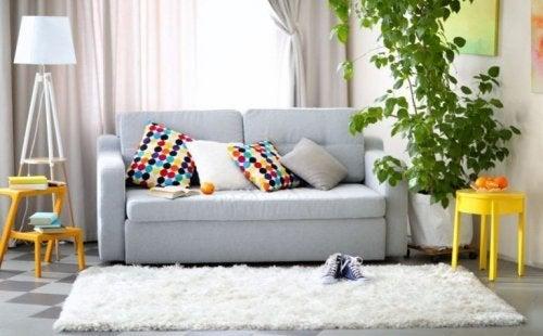 Acomode os móveis e ganhe espaço