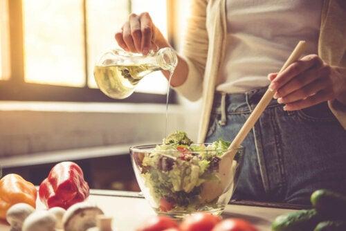 Verduras saudáveis
