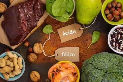 Alimentos com ácido fólico