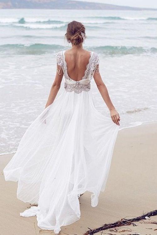 O vestido da noiva deve ser escolhido com tempo