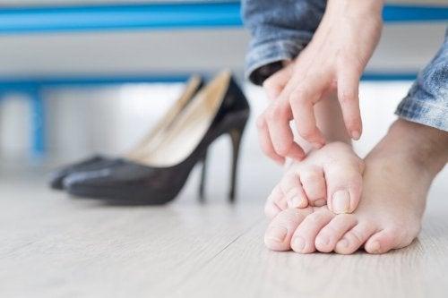Comichão nos pés