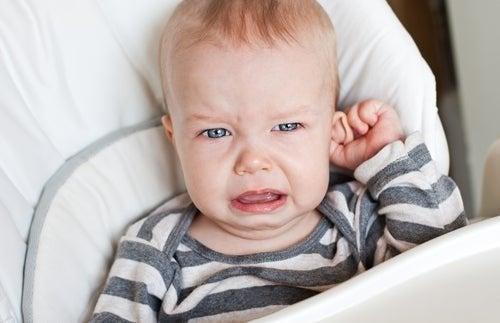 Dor de ouvido no bebê