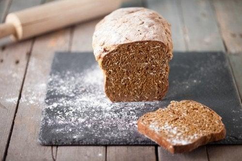 Pão com farinha integral