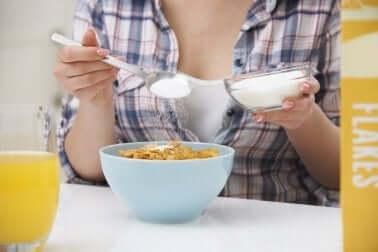 Evitar excesso de açúcar no caso de sofrer períodos menstruais irregulares