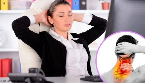 A má postura provoca contratura muscular