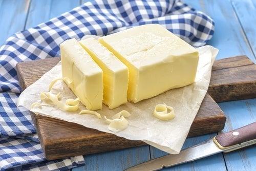 Manteiga para cozinhar carnes
