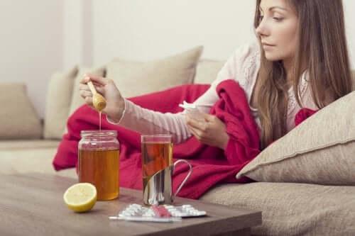 3 remédios para tratar a gripe naturalmente