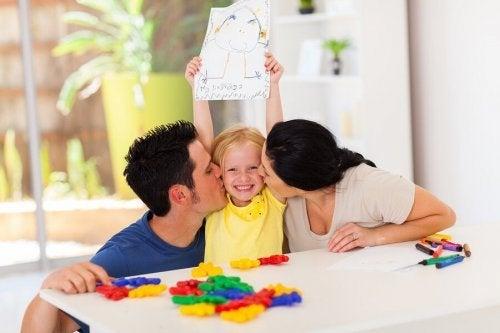 Parabenize seus filhos