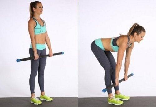 Exercício para ganhar músculo e força