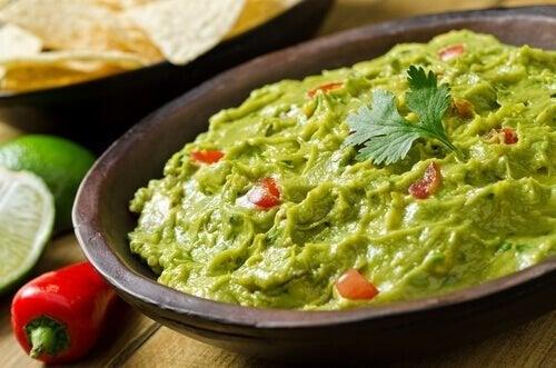 Guacamole para tacos