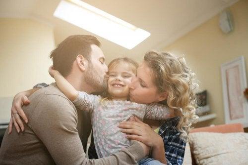 Encoraje o seu filho com amor
