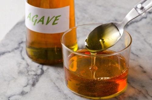 Xarope de agave para substituir o açúcar refinado