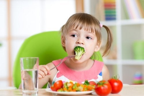 Alimentação adequada para crianças