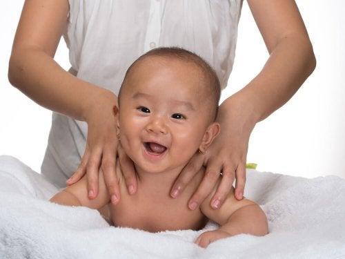 Bebê rindo