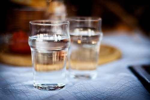 Beba bastante água