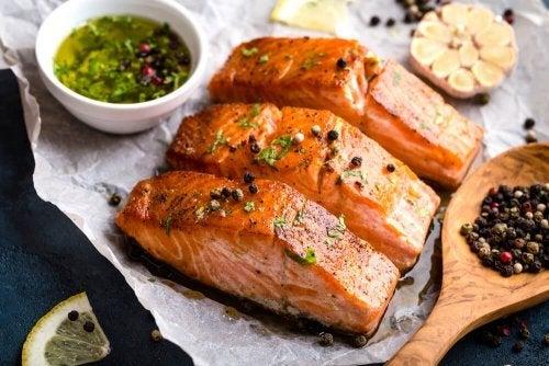 Benefícios do salmão para a beleza