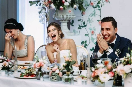 Casal se divertido