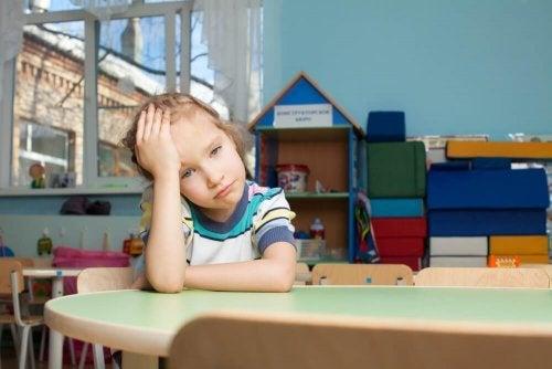 Criança se sentindo culpada
