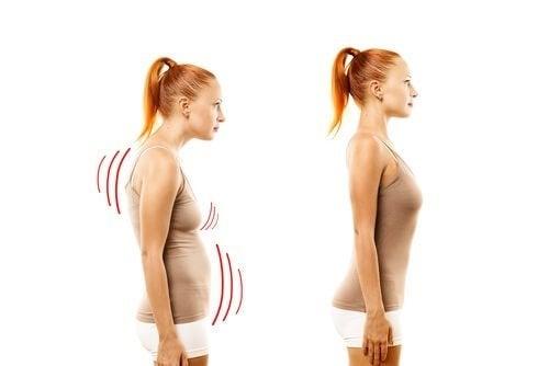 Manter uma postura correta melhora a saúde