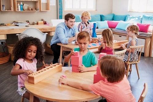 Crianças motivadas