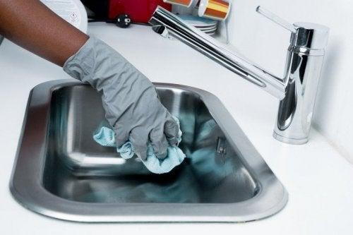 Manter limpa a cozinha