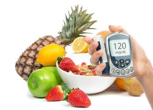 Alimentação e níveis de glicose