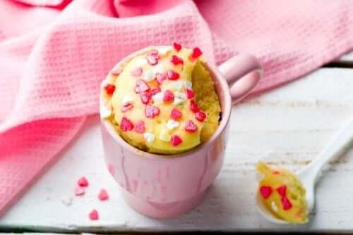 Como fazer um Mug Cake de aveia e banana?