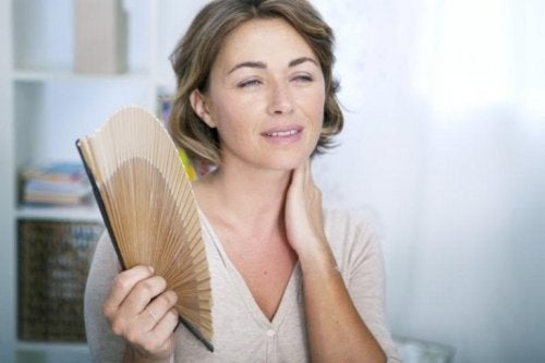 Calores na menopausa