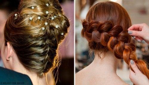 Penteados recolhidos para o casamento