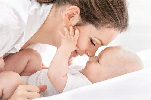 Relação entre mãe e filho
