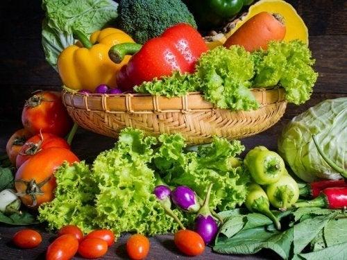 Verdura para pastas