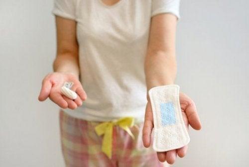 Comparação entre absorventes