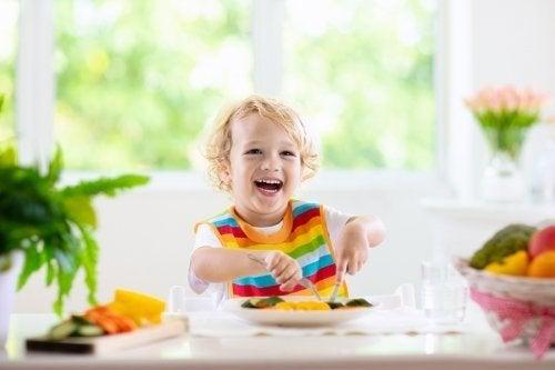 Alimentos saudáveis para crianças de 1 a 3 anos
