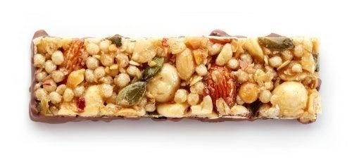 Barras de cereais veganas para matar a vontade