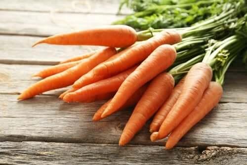 Propriedades da cenoura relacionadas à saúde