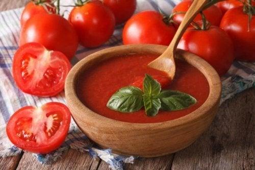 Creme de tomates