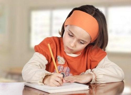 As notas não medem a inteligência da criança