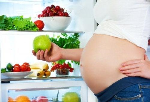 Alimentação saudável durante a gestação
