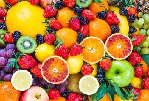 As frutas contêm grande quantidade de frutose