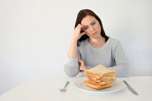 Mulher que não come pão