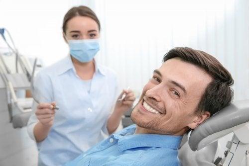 Não espere para ir ao dentista!