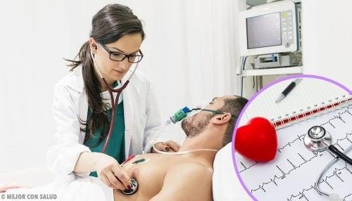 Paciente com problemas cardíacos