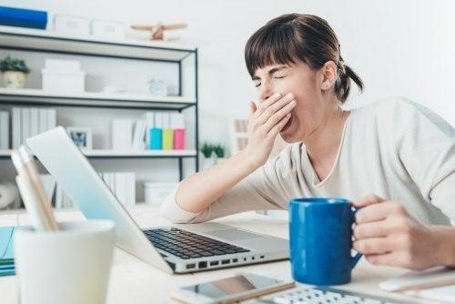 O cansaço e a pressão no trabalho