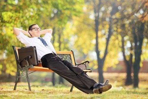 Relaxe ao ar livre
