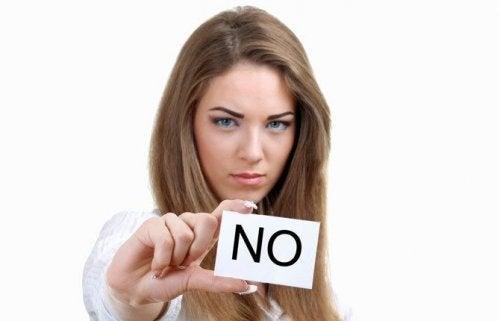 Saiba dizer não