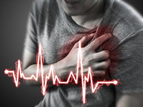 Sinal de infarto